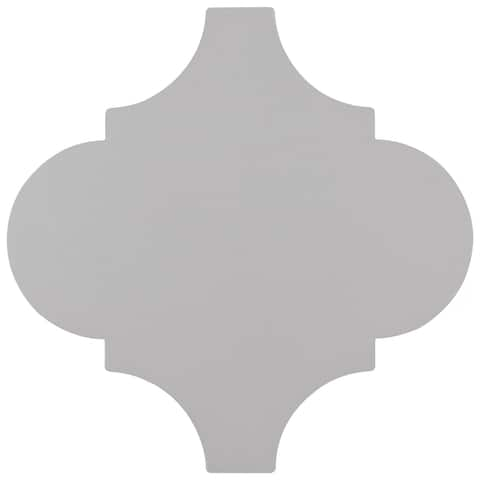 """SomerTile Provenzale Lantern Grey 8"""" x 8"""" Porcelain Floor and Wall Tile"""