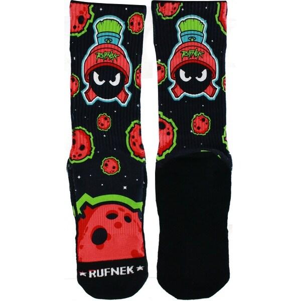 Rufnek Marvin the Martian Not of this World Men's Socks