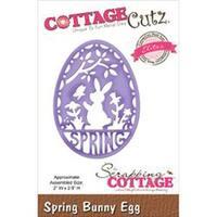 "Spring Bunny Egg 2""X2.8"" - Cottagecutz Elites Die"