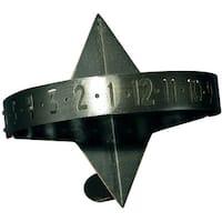 Whitehall Sun Clock Large Sundial, Oil Rub Bronze