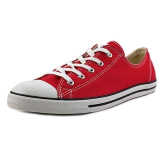 Converse Chuck Taylor All Star Dainty Ox Round Toe Canvas Sneakers