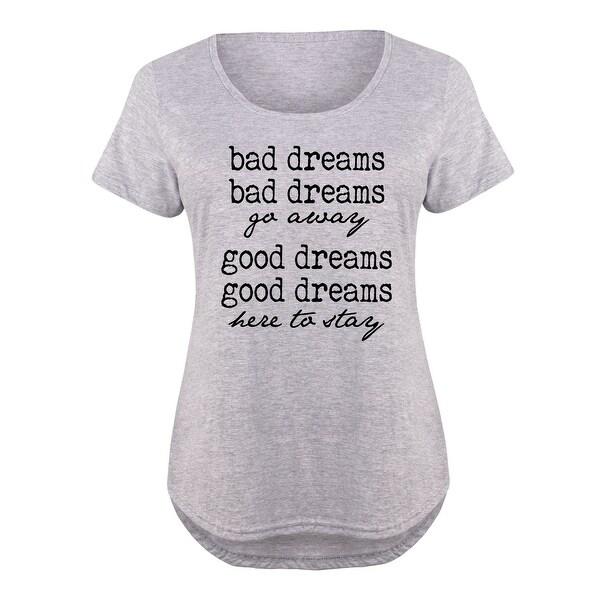 f16909852b4 Bad Dreams Good Dreams - Pop Culture Cute Ladies Plus Size Scoop Neck Tee