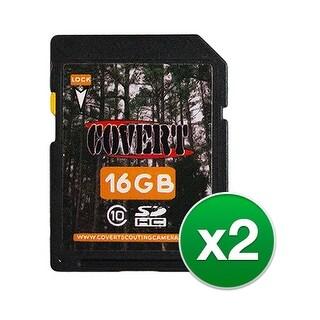 Covert 16 GB SD Memory Card (2-Pack) 16 GB Memory Card