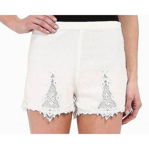 Volcom Womens Small Pull-On Lace-Trim Casual Shorts