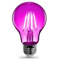 FEIT Electric A19/TPK/LED A-Line Filament LED Bulb, 3.6 watts, 120 volts, Pink