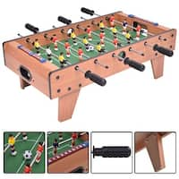 Costway 27'' Foosball Table Competition Game Room Soccer football Sports Indoor w/ Legs