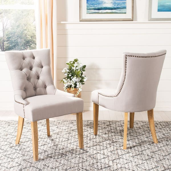 Safavieh En Vogue Abby Dining Chairs Set Of 2 22 W X 23 8 L X 36 4 H 22 W X 23 8 L X 36 4 H Overstock 6625035