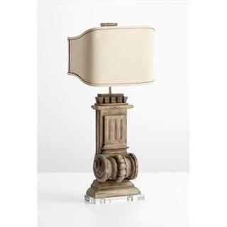 Cyan Design 5930 2 Light Loft Accent Table Lamp - limed gracewood