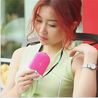 Youphoreah Hand Held Portable Air Conditioner, Pink
