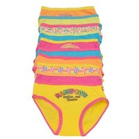 Sweet n Sassy Little Girls Multi Color Rainbow 10 Pc Underwear Pack