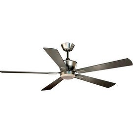"Vaxcel Lighting F0017 Geneva 52"" 5 Blade DC Motor Indoor Ceiling Fan - Remote Co"