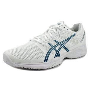 Asics Gel-Solution Speed 2 Grass Men  Round Toe Synthetic White Sneakers