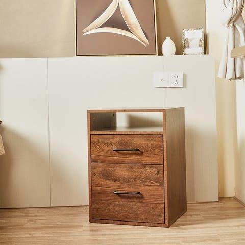 Crigler 2 - Drawer Nightstand in Oak