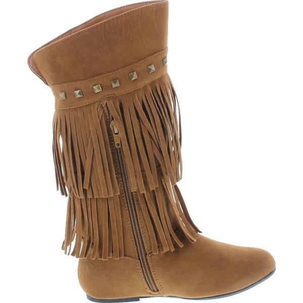 fringe boots for little girls