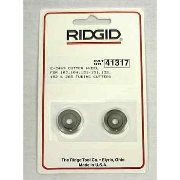 Ridgid 41317 Aluminum And Copper Tubing Cutter Wheel