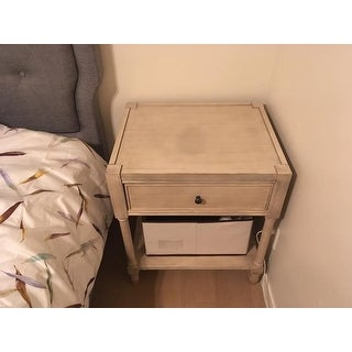 The Gray Barn Dingo Point Vintage Style End Table