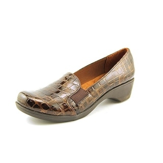 Soft Style by Hush Puppies Kaden Women N/S Round Toe Synthetic Brown Loafer