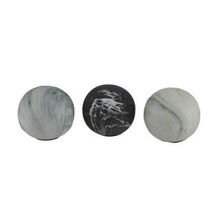 Decorative Balls Grey Decorative Accessories Find Great Home
