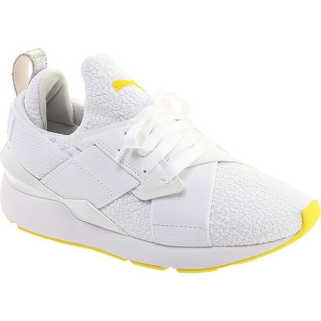 puma yellow shoes womens