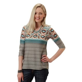 Roper Sweater Women Native Dancer Pullover 03-038-0514-7050 BR|https://ak1.ostkcdn.com/images/products/is/images/direct/7bccc2b214ced2a98d58898e9fc74c90016a2c1a/Roper-Sweater-Women-Native-Dancer-Pullover-03-038-0514-7050-BR.jpg?impolicy=medium