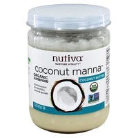 Nutiva Organic Manna - Coconut - Case of 6 - 15 oz.