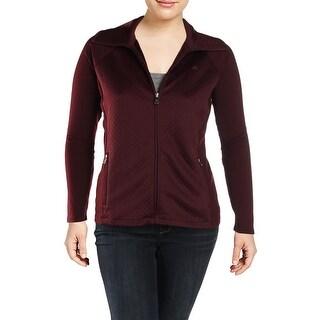 Lauren Ralph Lauren Womens Plus Jacket Winter Quilted