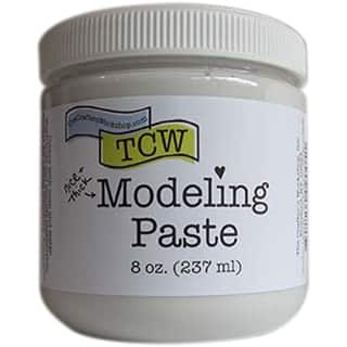 Crafter's Workshop Modeling Paste 8Oz-White https://ak1.ostkcdn.com/images/products/is/images/direct/7bcf2b80e91b7a6911ae7db1c734ff2163dd9dde/Crafter%27s-Workshop-Modeling-Paste-8Oz-White.jpg?impolicy=medium