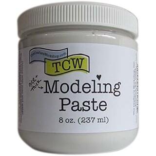 Crafter's Workshop Modeling Paste 8Oz-White