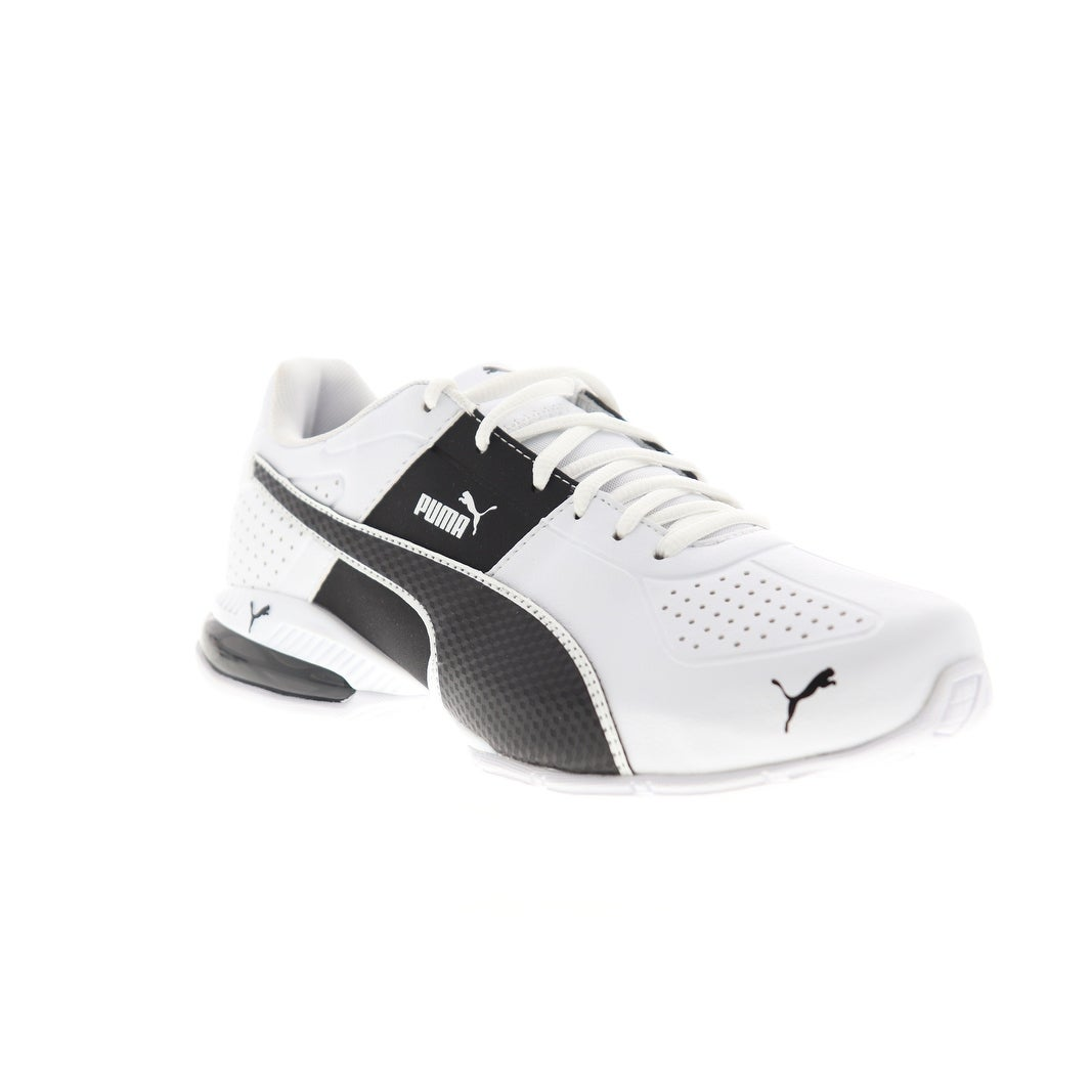 Puma Cell Surin 2 FM White Black Mens Athletic Running Shoes - On Sale -  Overstock - 30673228
