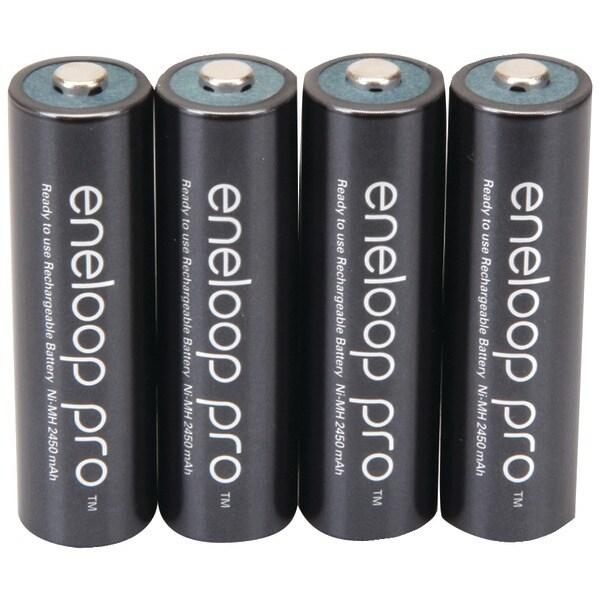 Panasonic Bk-3Hcca4Ba Eneloop(R) Xx Batteries (Aa; 4 Pk)