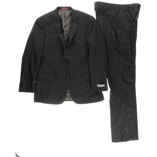 Hart Schaffner Marx Mens Wool 2PC Two-Button Suit - 42R