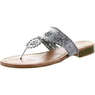 Pierre Dumas Womens Rosetta-1 Slip-On Sandals
