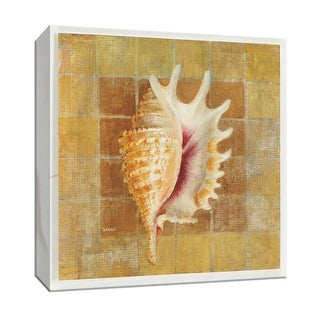 """PTM Images 9-152701  PTM Canvas Collection 12"""" x 12"""" - """"Seashell II"""" Giclee Shells Art Print on Canvas"""