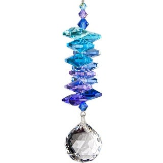 Woodstock Rainbow Makers Collection Crystal Moonlight Cascade with Large Ball