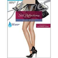 3c4fb5106c3 Hanes Silk Reflections Control Top Sheer Toe Pantyhose - Size - AB - Color  - Travel. Sale