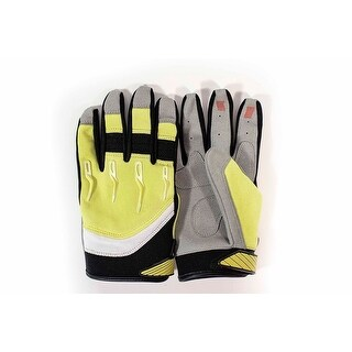 Race-Driven ATV MX Off Road Silicone Fingertip Riding Gloves - Yellow
