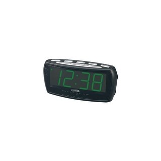 JENSEN JENJCR208B AM/FM Alarm Clock Radio