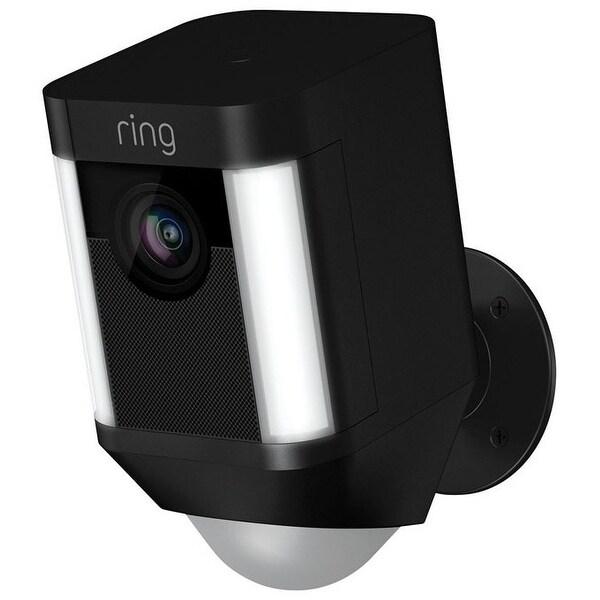 Ring 8SB1S7-BEN0 Spotlight Cam Battery Security Camera, Black
