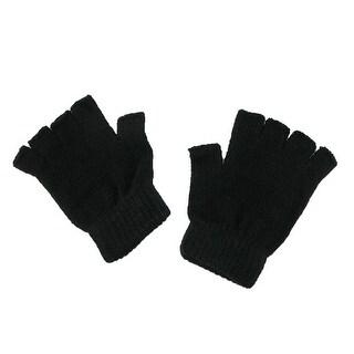 CTM® Magic Stretch Fingerless Winter Gloves