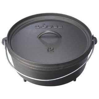 Lodge L12CO3 Camp Dutch Oven, 6 Quart