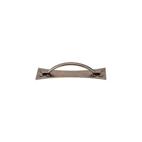 """Top Knobs M249 Mission 3-3/4"""" Center to Center Handle Cabinet Pull from the Chateau II Series - german bronze - n/a"""
