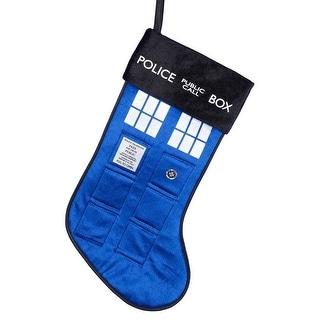 "Doctor Who 19"" TARDIS Holiday Stocking"