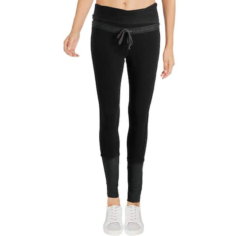 Free People Womens Under It All Athletic Leggings High Rise Fitness