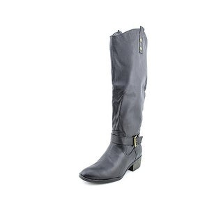 Chinese Laundry Roger That Round Toe Leather Knee High Boot