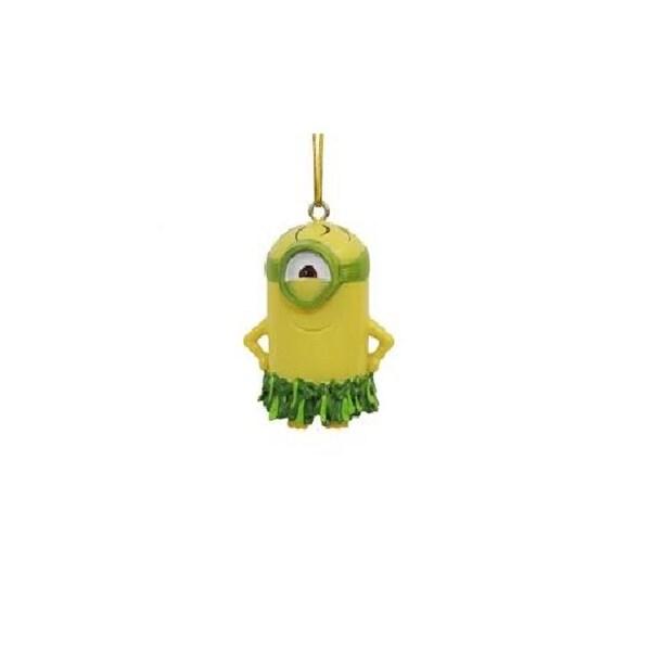 """2"""" Despicable Me Au Naturel Minion Decorative Christmas Ornament"""