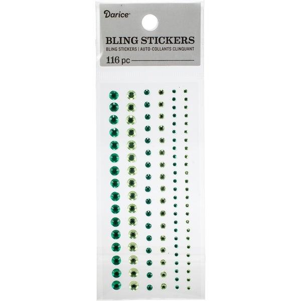 18352be4ad Darice Round Rhinestone Stickers 116/Pkg