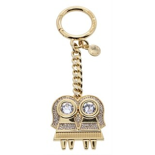 MICHAEL Michael Kors Womens Fashion Keychain Gemini Rhinestone - o/s