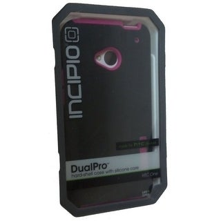 Incipio Dual Pro Hybrid Case for HTC One - Black/Pink