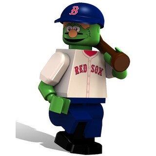 Boston Red Sox OYO Sports MLB Wally The Green Monster Minifigure - multi