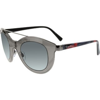 Giorgio Armani Women's AR6033-301087-39 Silver Shield Sunglasses